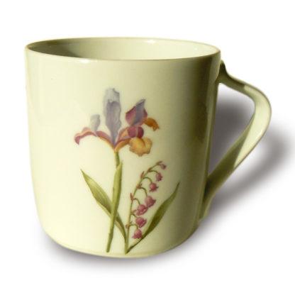 Loop Blumen Schwertlilie und Maiglöckchen
