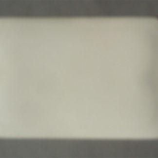 Weissporzellan rundeckige Platte