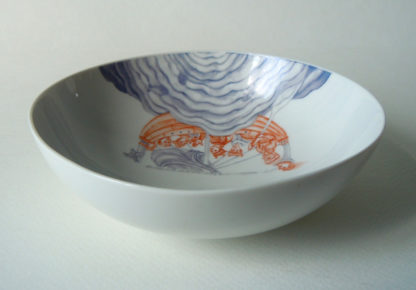 Bootsfahrt als Porzellanmalerei