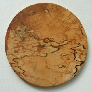 Holzscheibe Untersetzer aus Holz