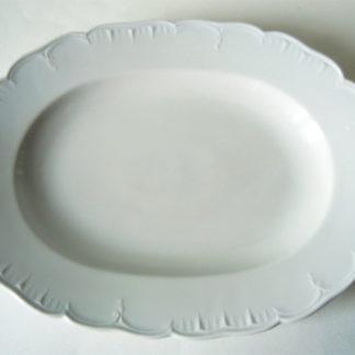 ovale Platte Neuglatt 32 cm