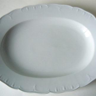 Ovale Platte KPM Neuglatt
