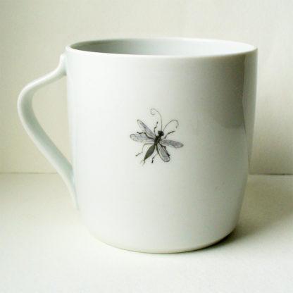 Tasse mit Kronenanemone Rückseite